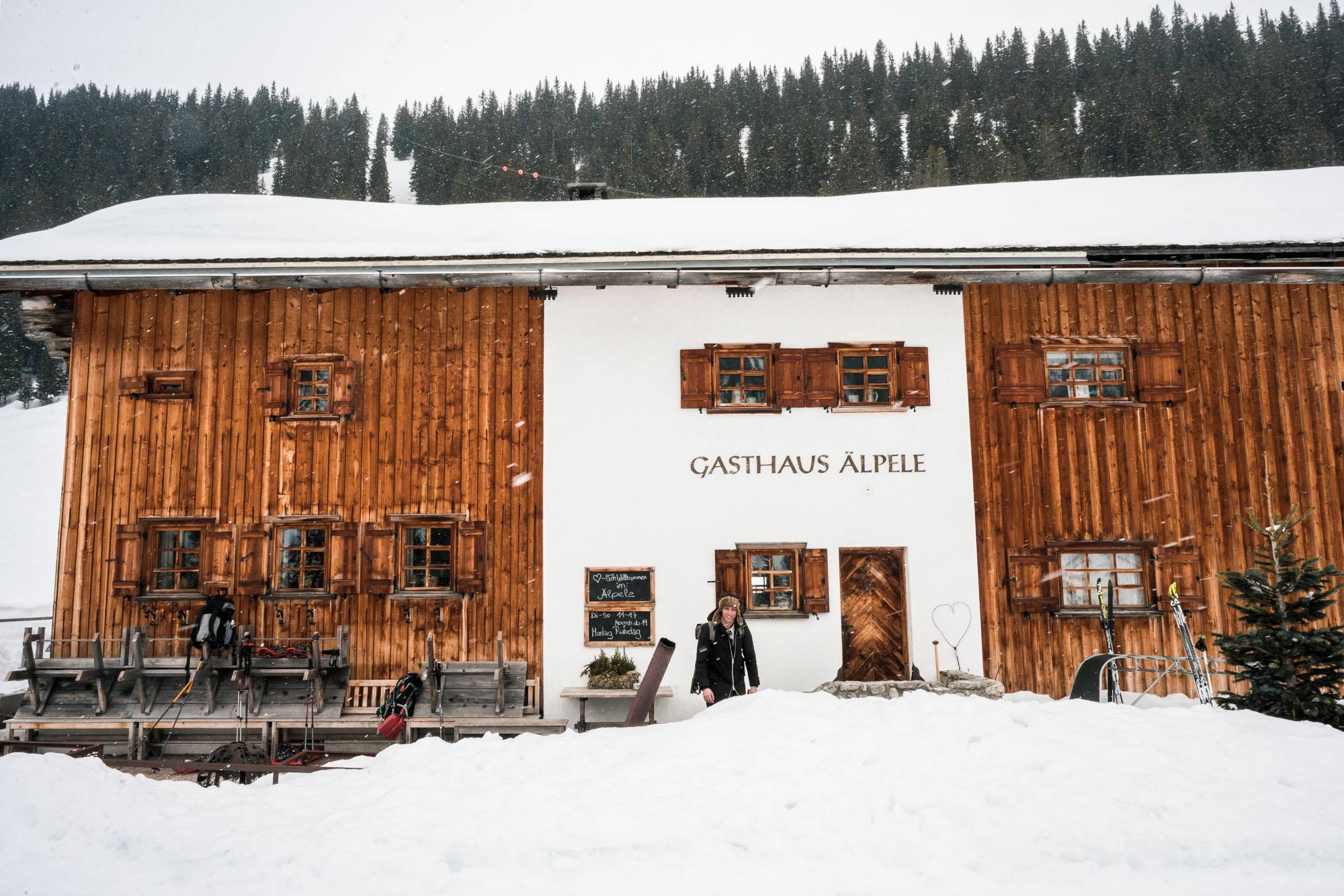 Cute Austrian Hotels and restaurants in Lech, Austria