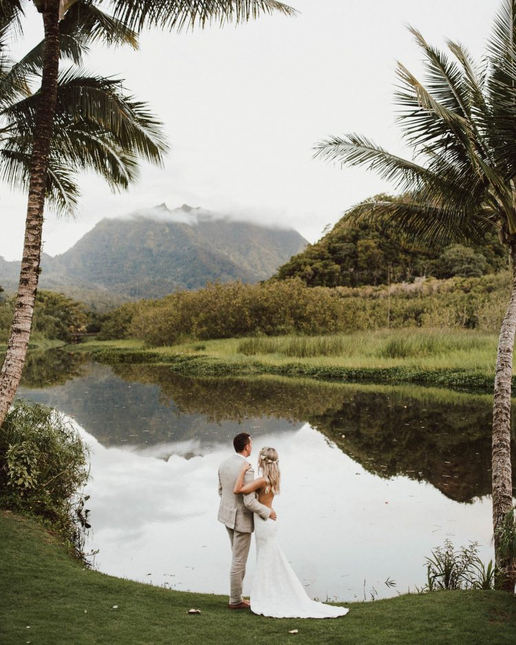Our Kauai Wedding Day