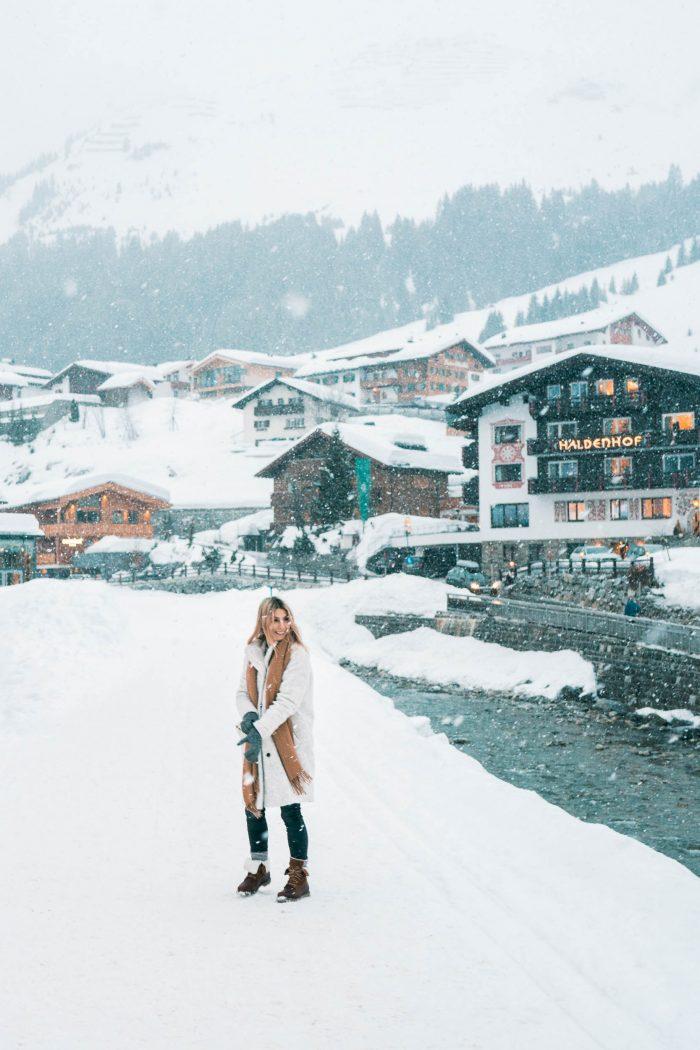 Friends Ski Trip in Lech, Austria