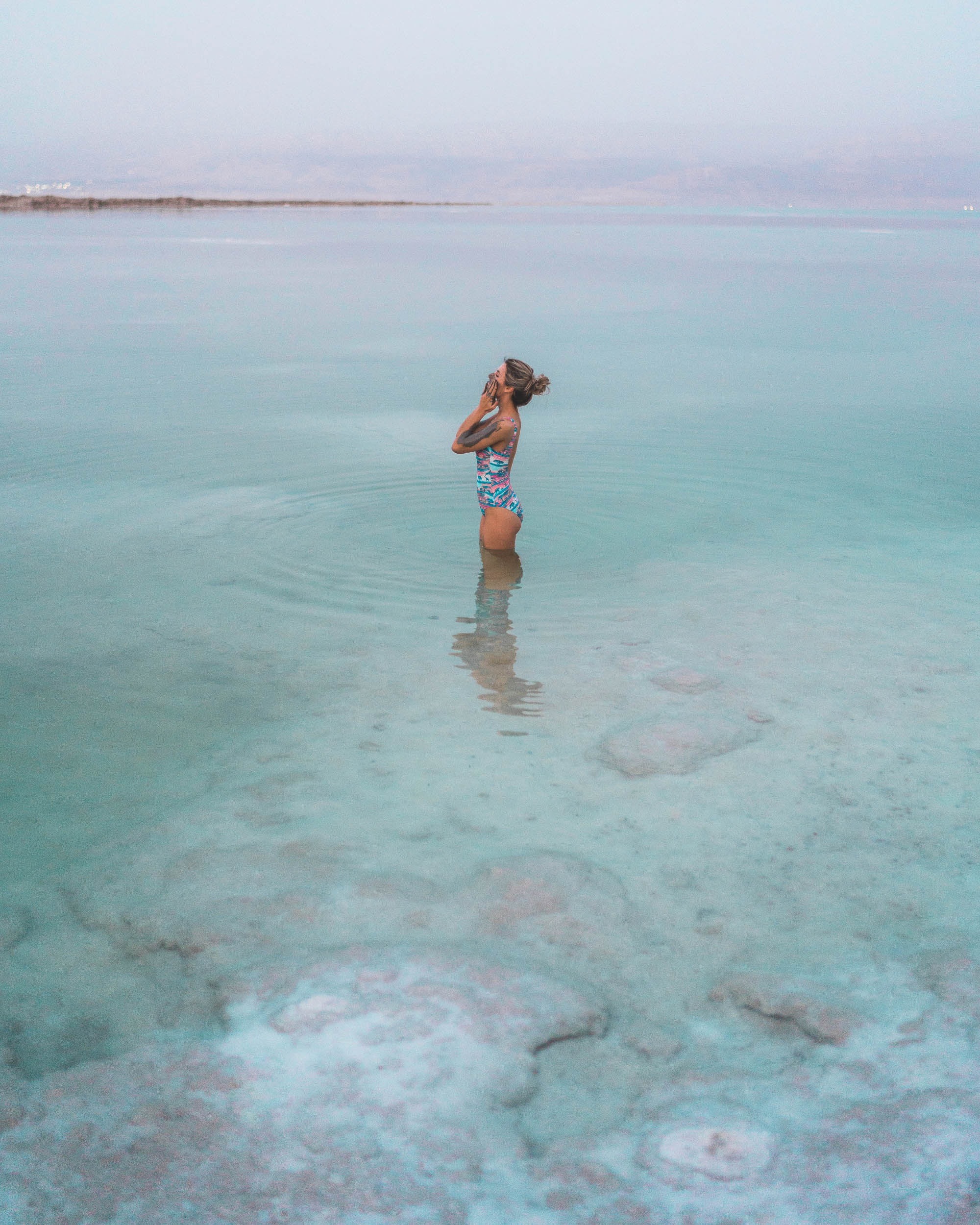 Dead sea mud in the dead sea in israel find us lost