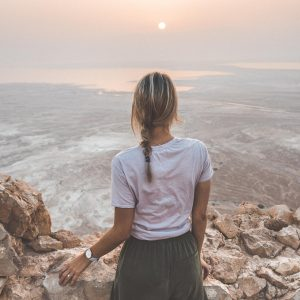 Masada at sunrise in the dead sea israel find us lost