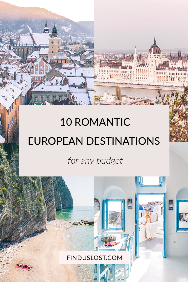 10 Budget-Friendly, Romantic European Destinations