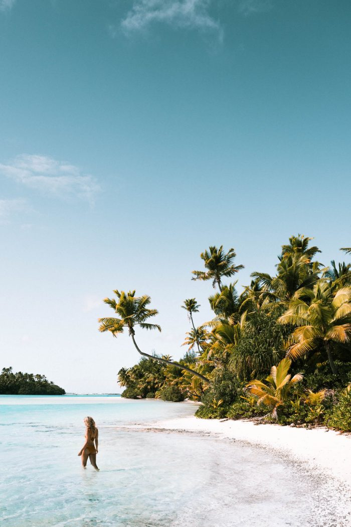 White Sand Beaches in the Cook Islands