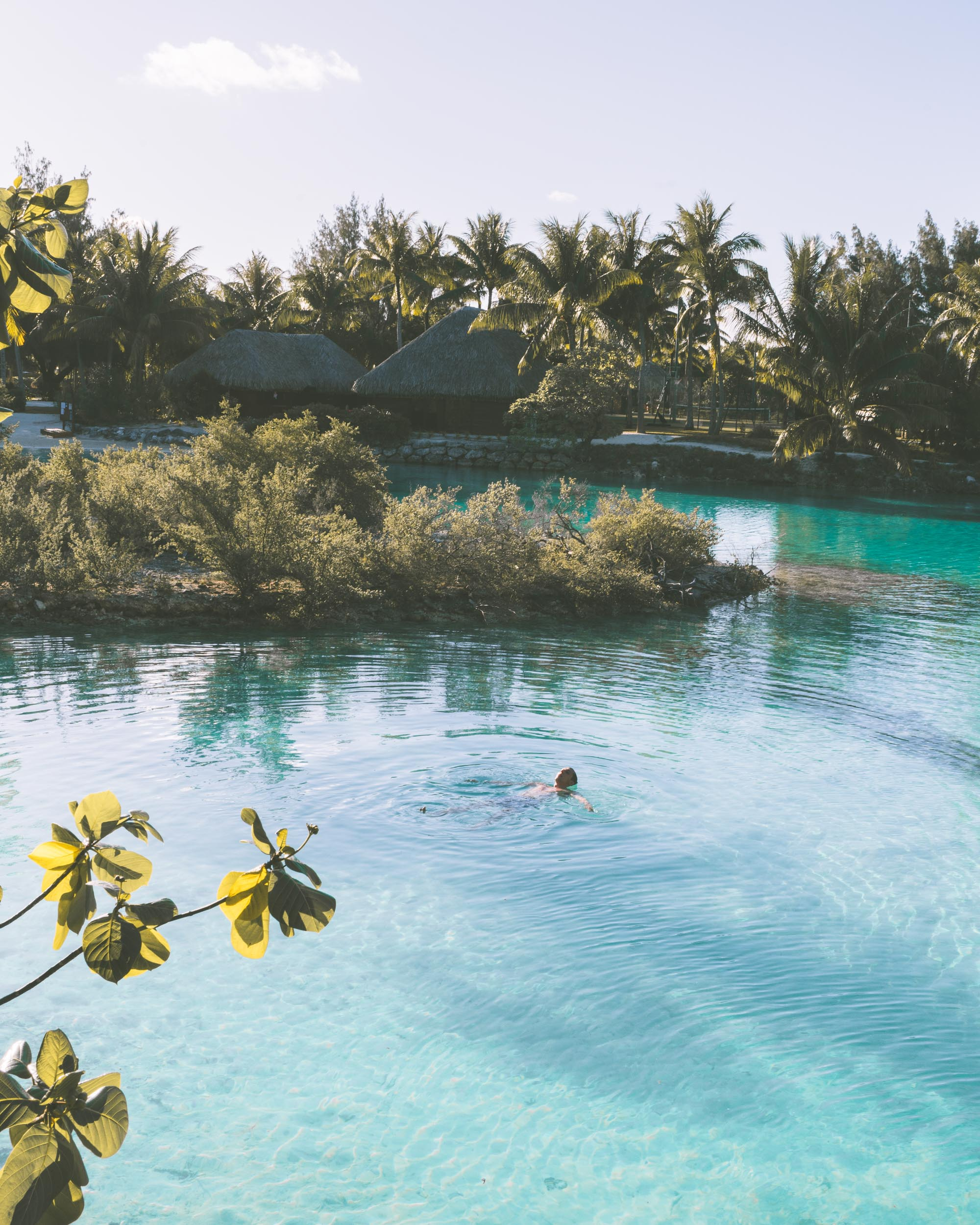 Lagoon at Four Seasons Bora Bora in Tahiti for our Honeymoon via @finduslost