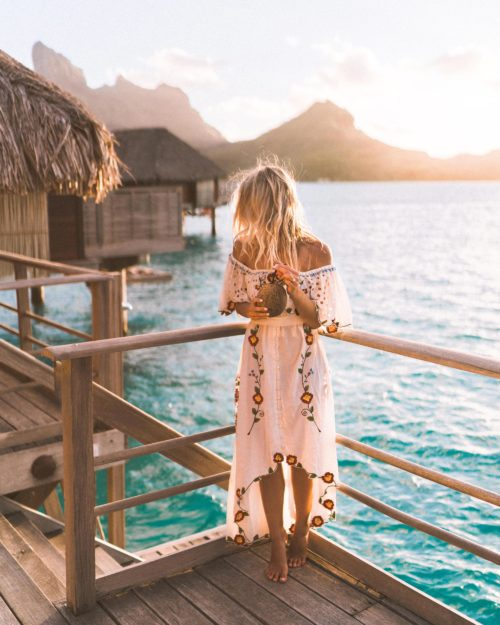 Honeymooning in Tahiti