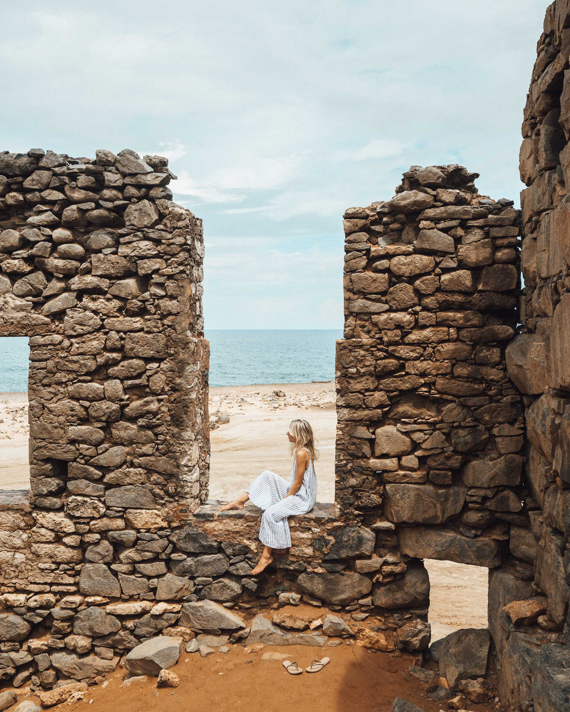 Bushiribana Ruins in Aruba via Find Us Lost