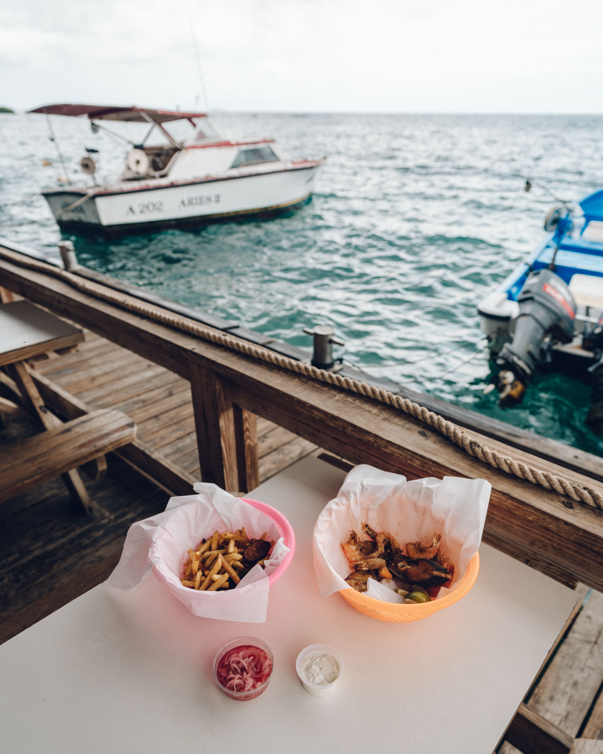 Zee Rovers for seaside lunch and fresh fish in Aruba via Find Us Lost