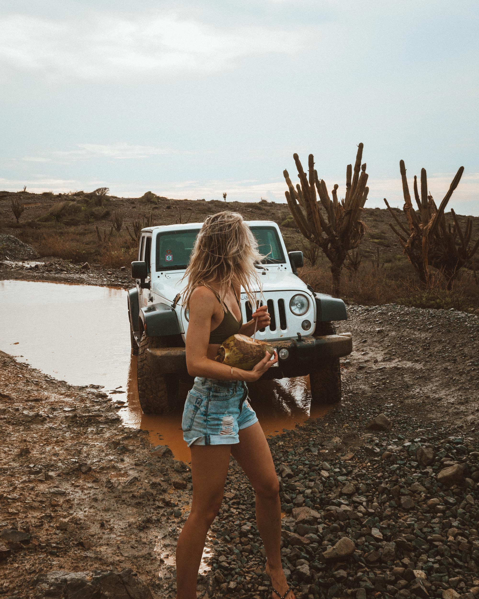 Jeep road trip in Arikok National Park of Aruba via Find Us Lost