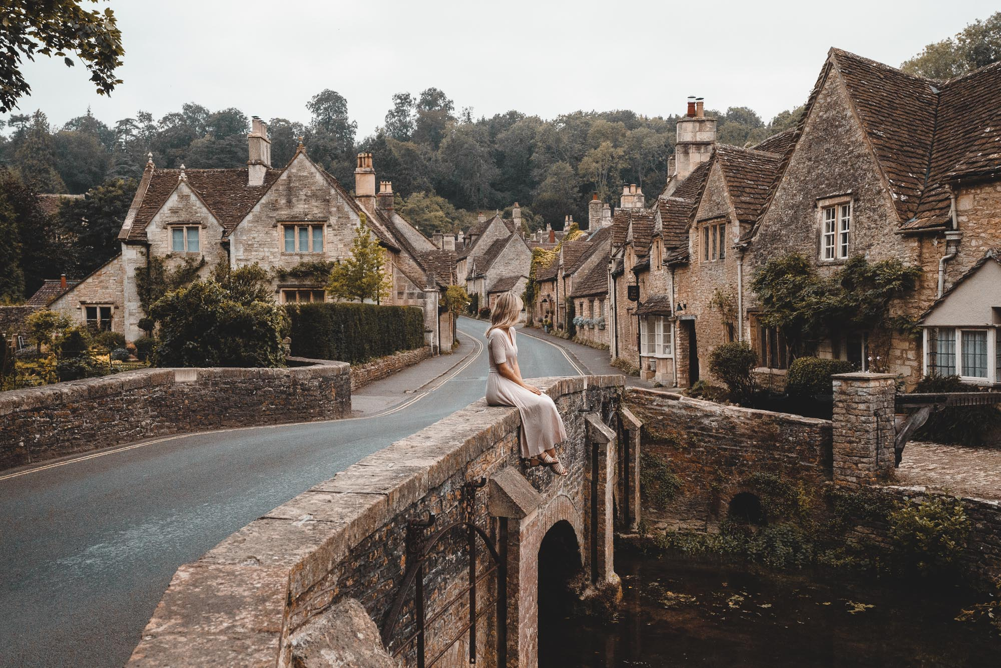 Castle Combe in the Cotswolds, England via Find Us Lost