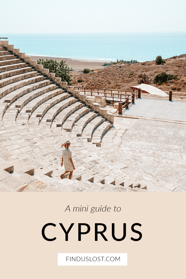 Cyprus Mini Travel Guide via Find Us Lost