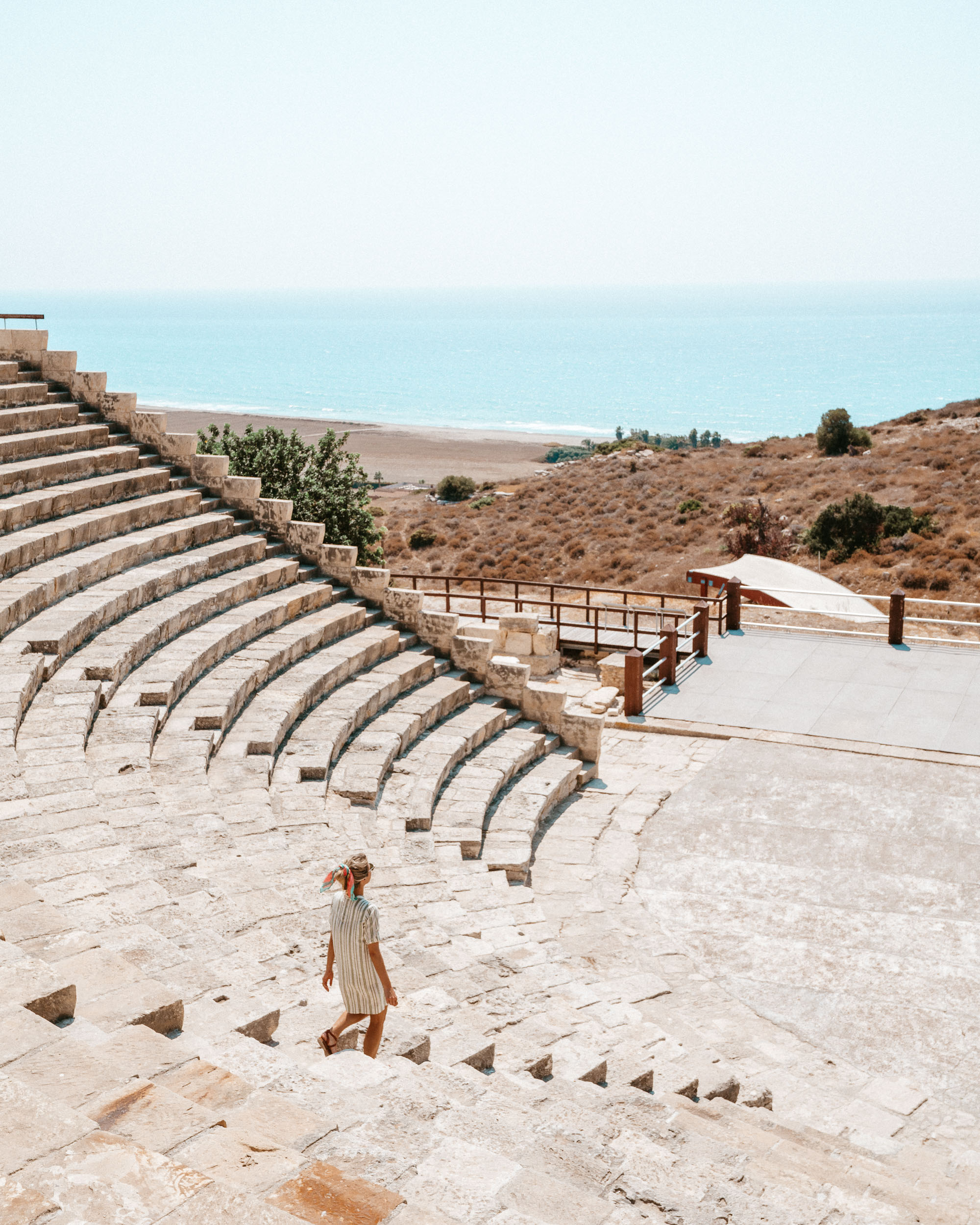 Paphos mosaic archaeological park and views of Cyprus via @finduslost