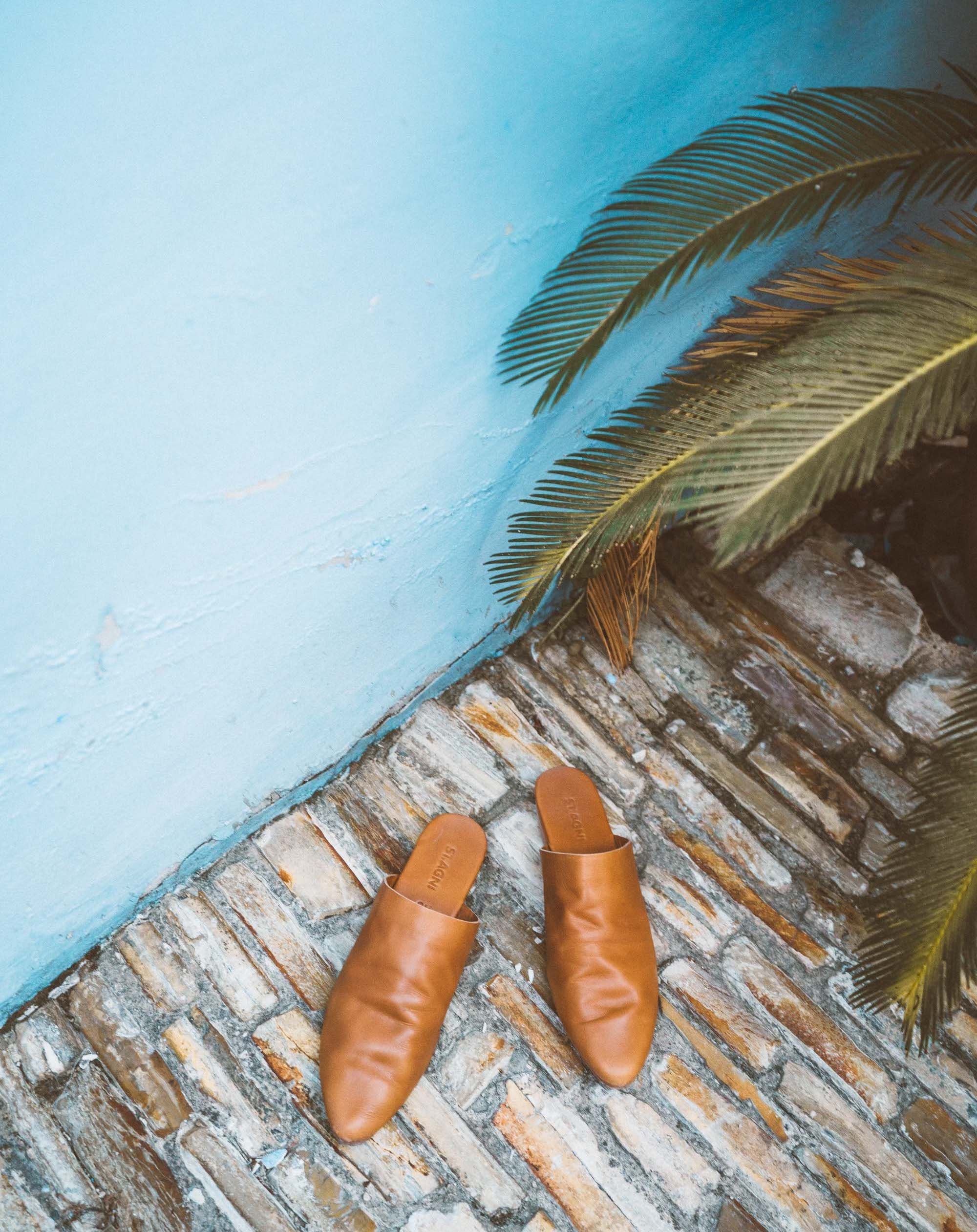 Travel mules shoes in Cyprus via @finduslost