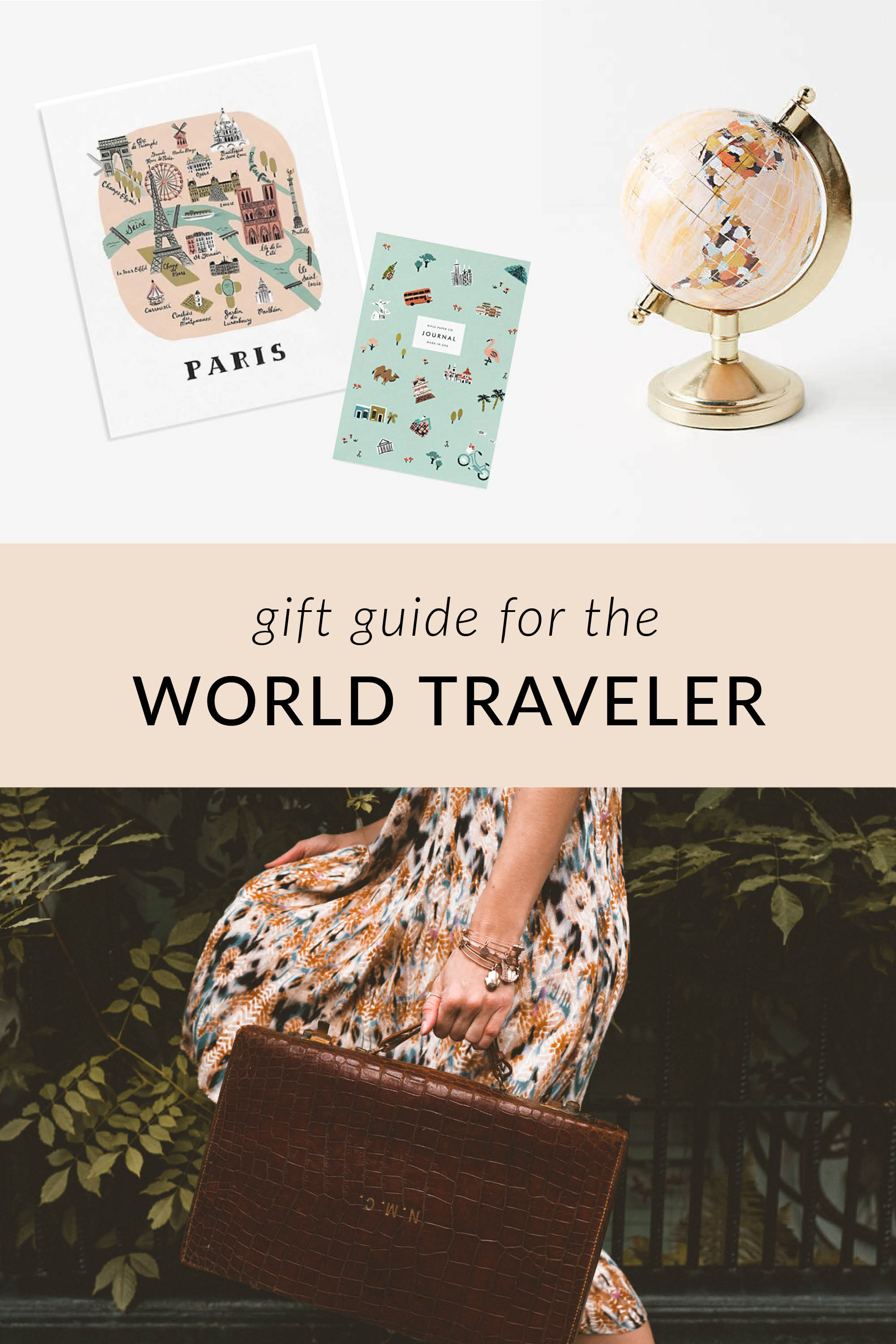 Gifts for the World Traveler | Gift Guide by Find Us Lost