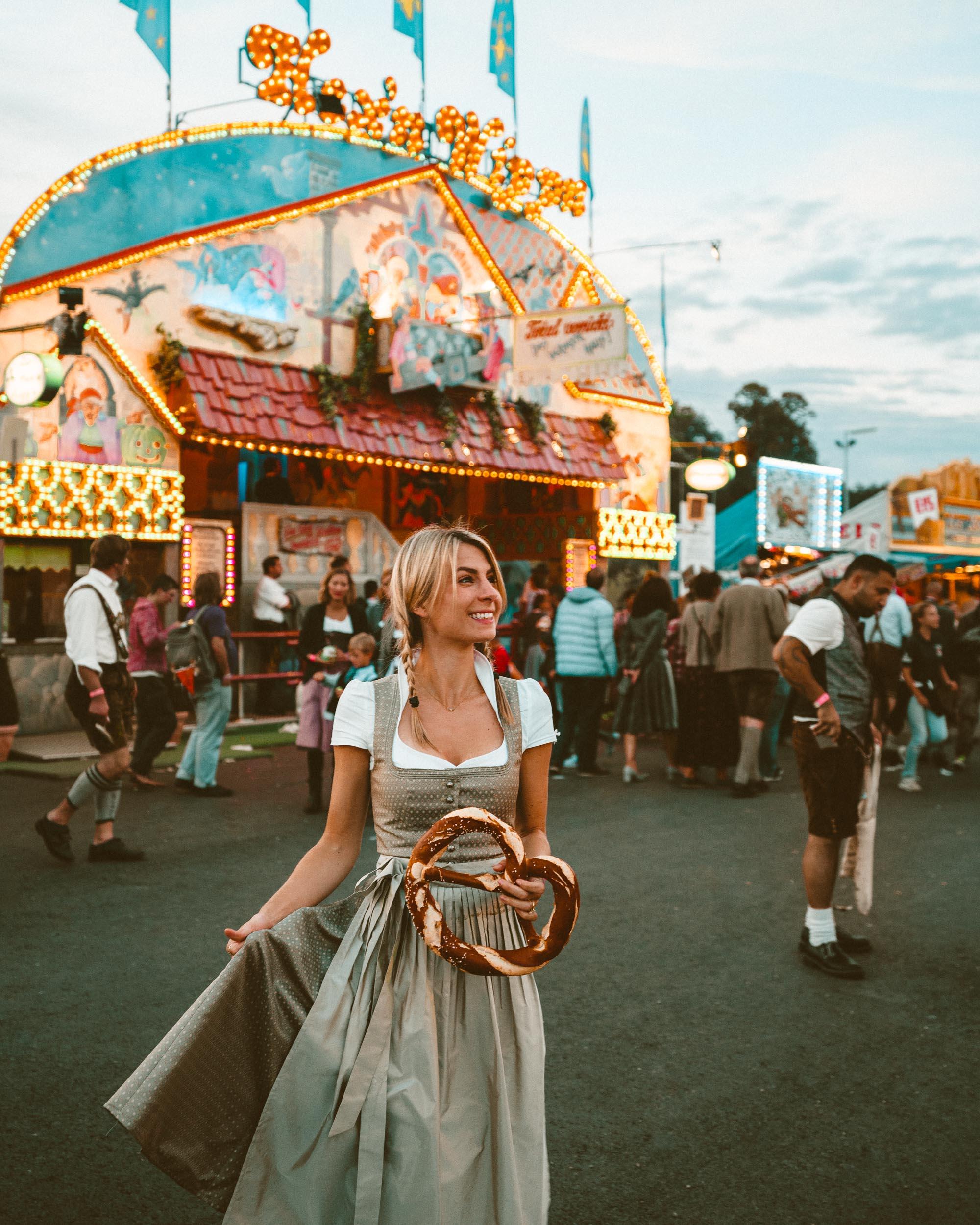 Oktoberfest in Munich Germany via Find Us Lost