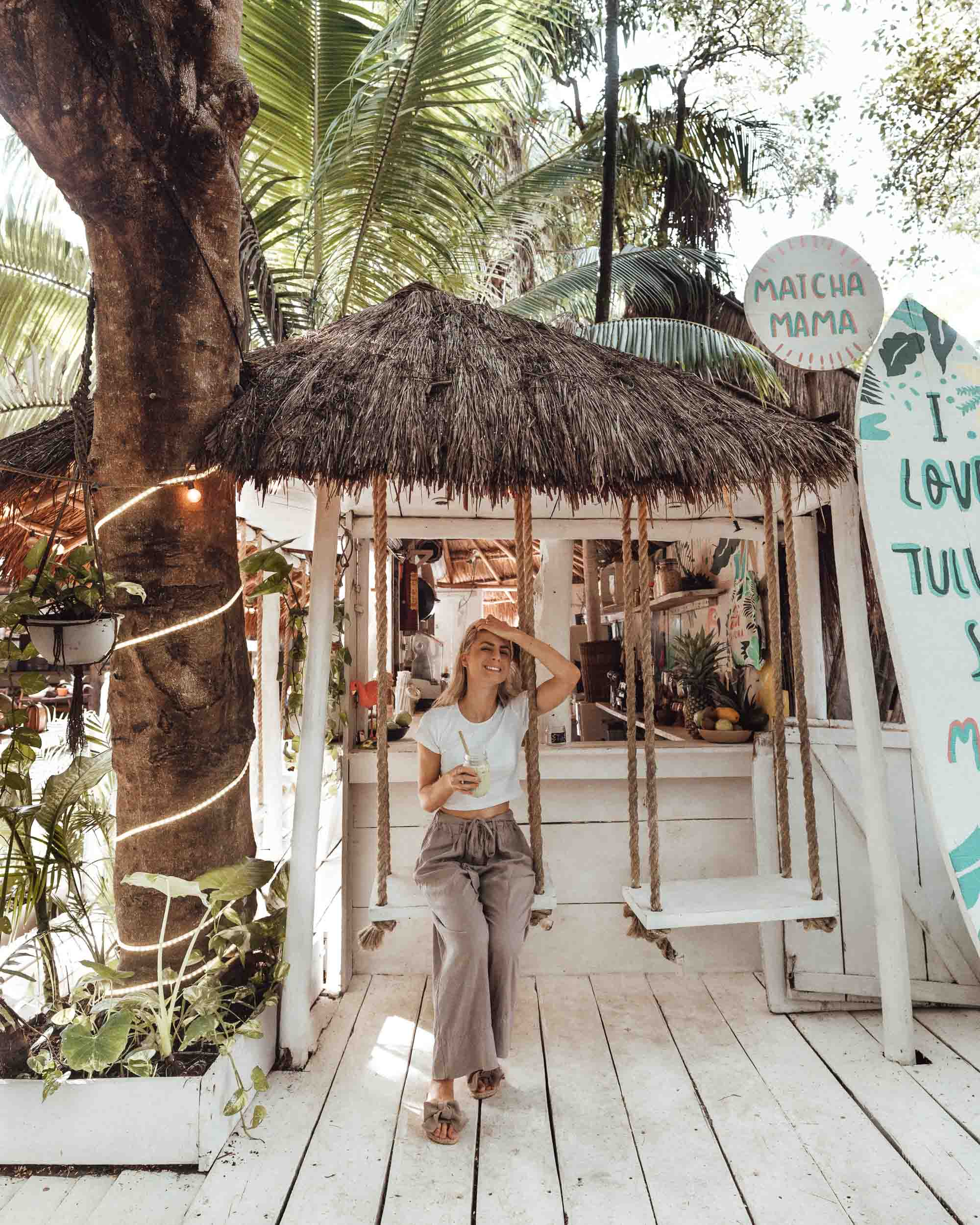 Matcha Mama in Tulum Quintana Roo Mexico via Find Us Lost