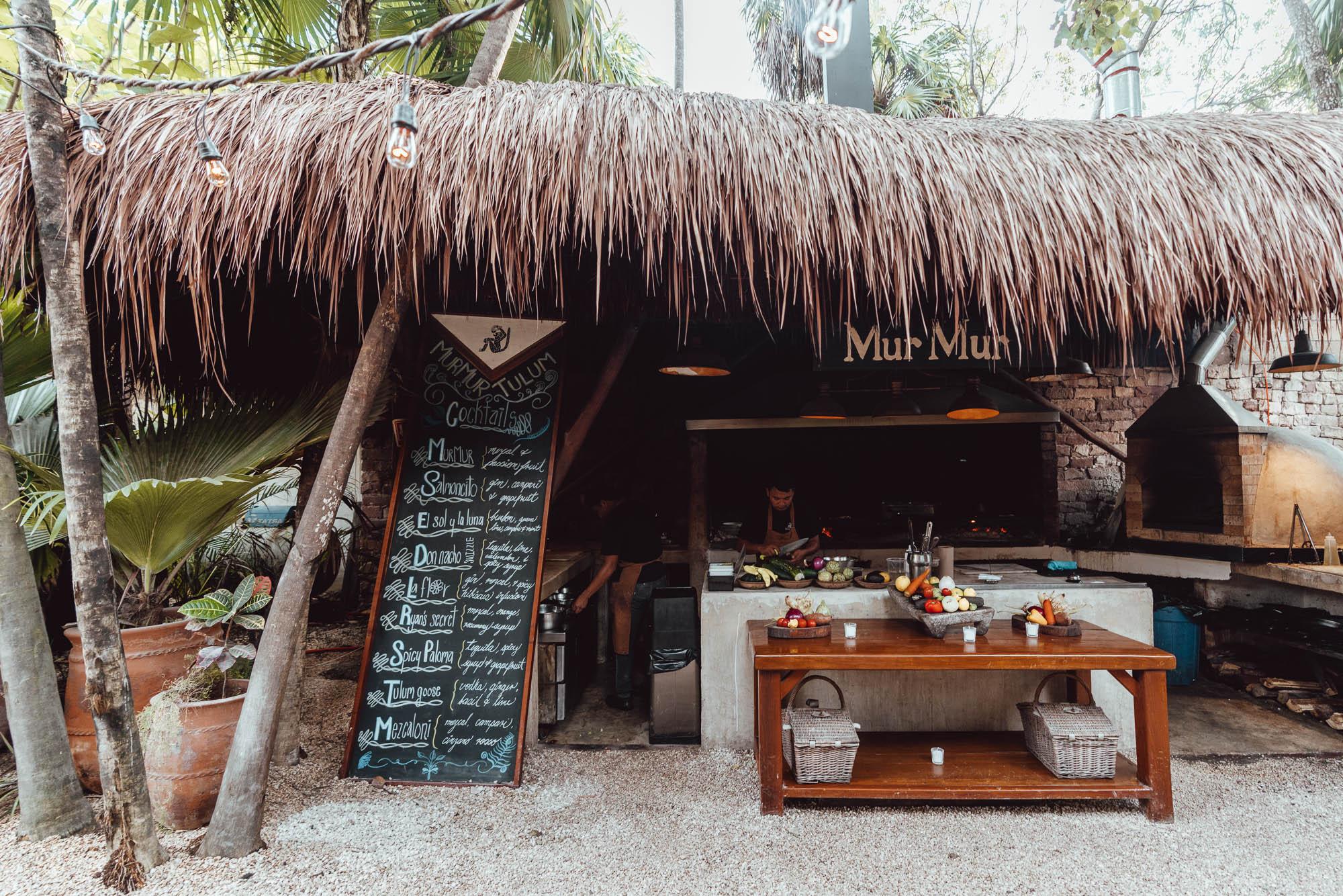 Mur Mur restaurant Tulum Quintana Roo Mexico via Find Us Lost