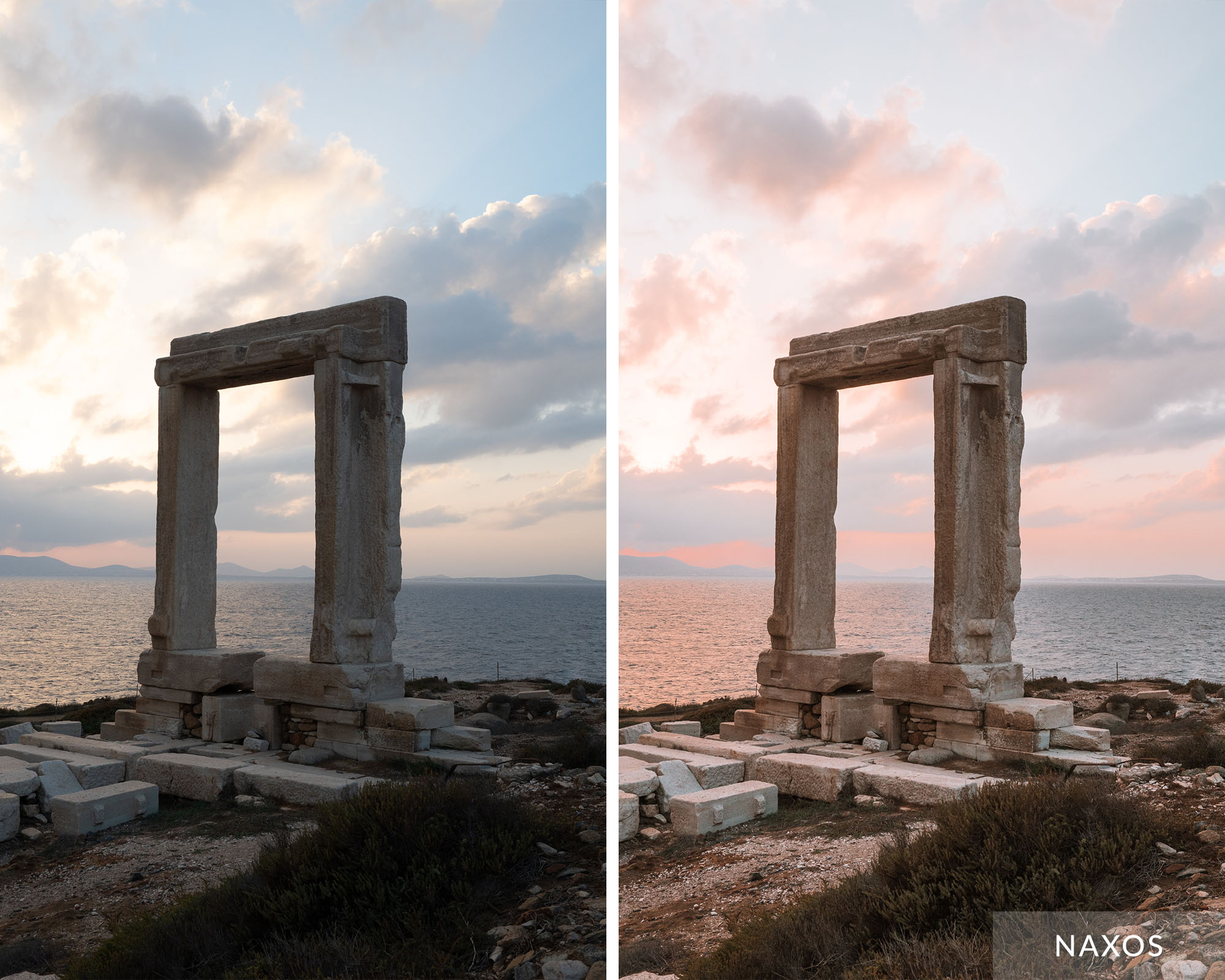 NAXOS - Find Us Lost Greek Islands Preset Collection