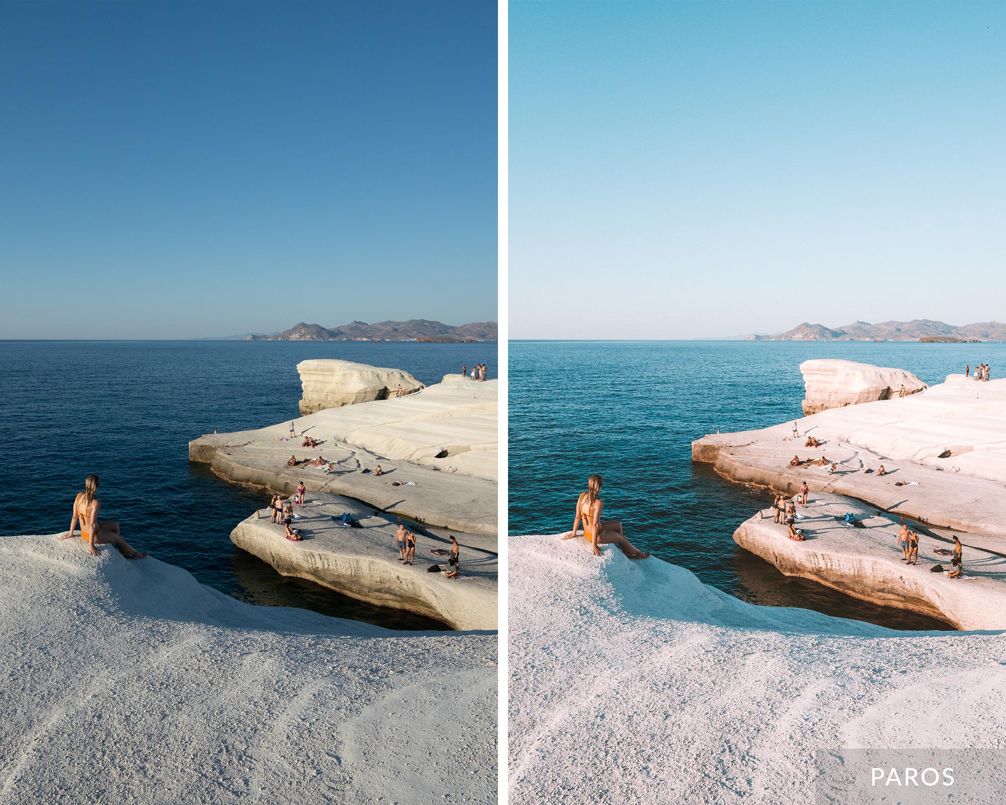 PAROS - Find Us Lost Greek Islands Preset Collection
