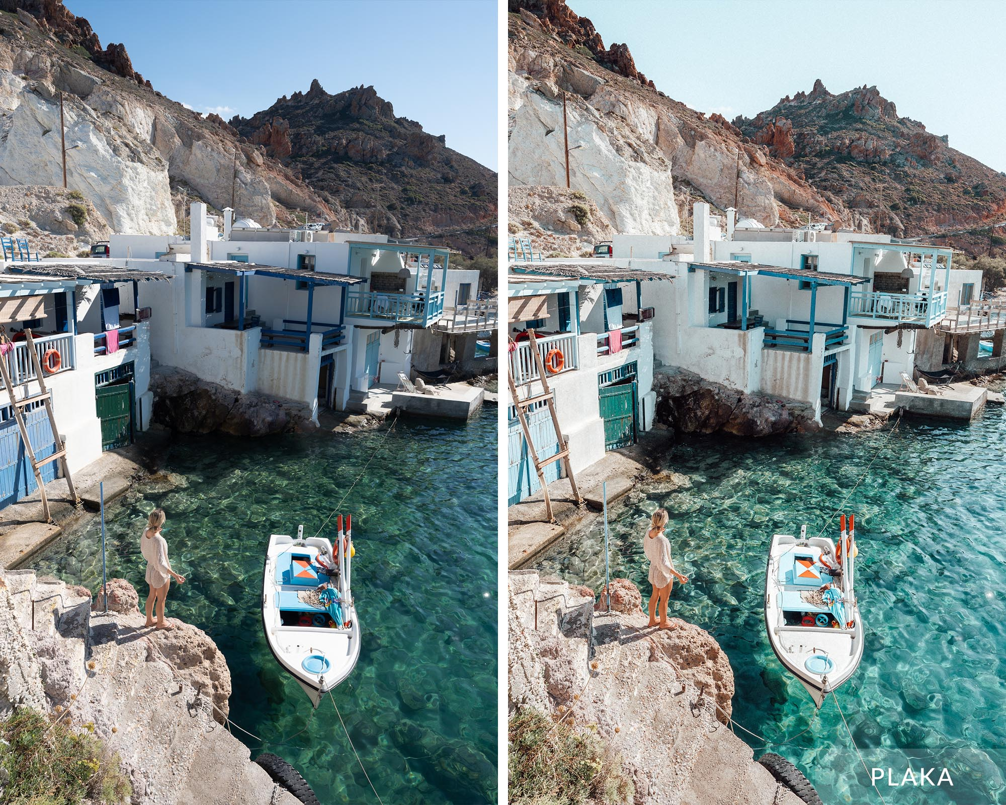 PLAKA - Find Us Lost Greek Islands Preset Collection