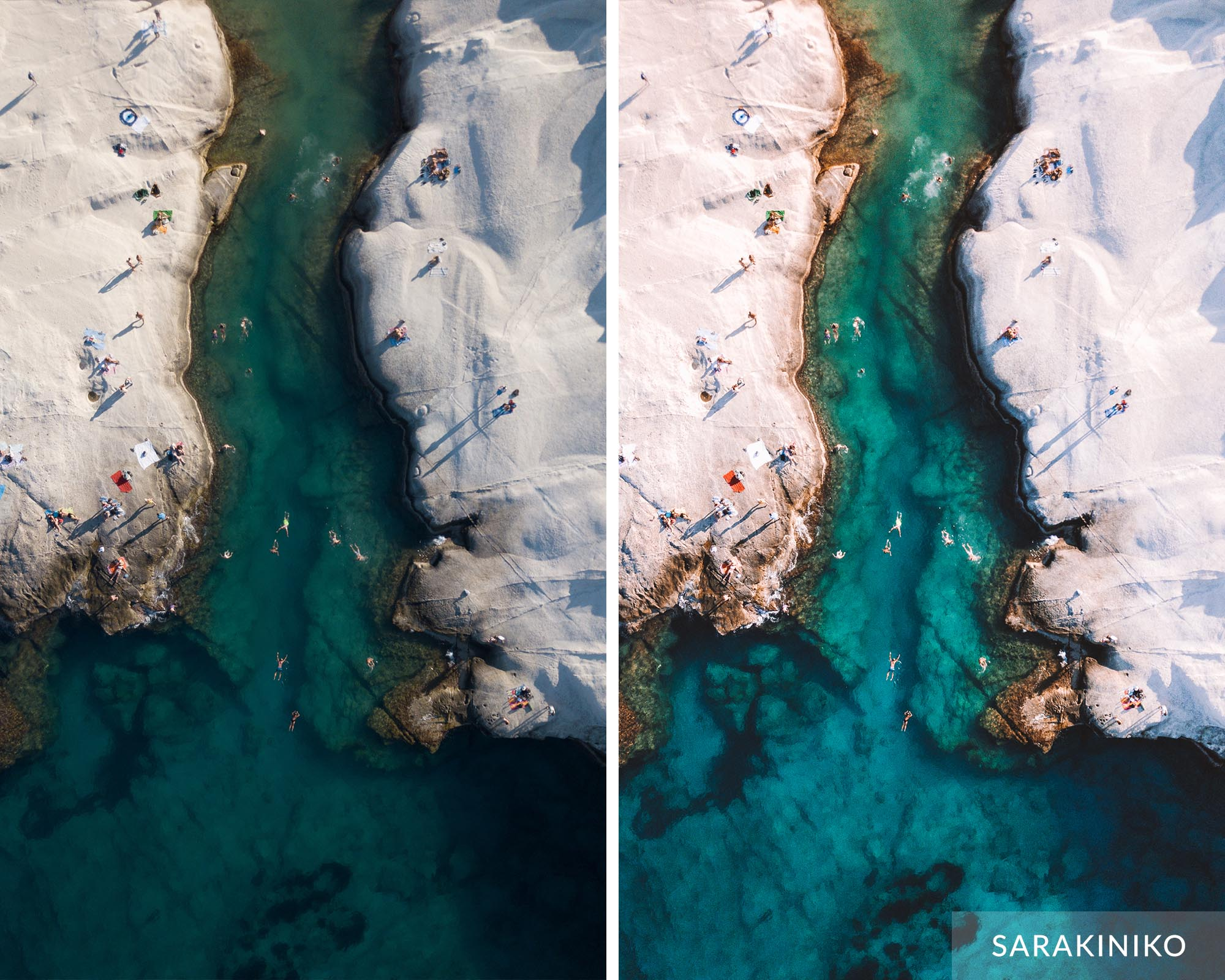 SARAKINIKO - Find Us Lost Greek Islands Preset Collection