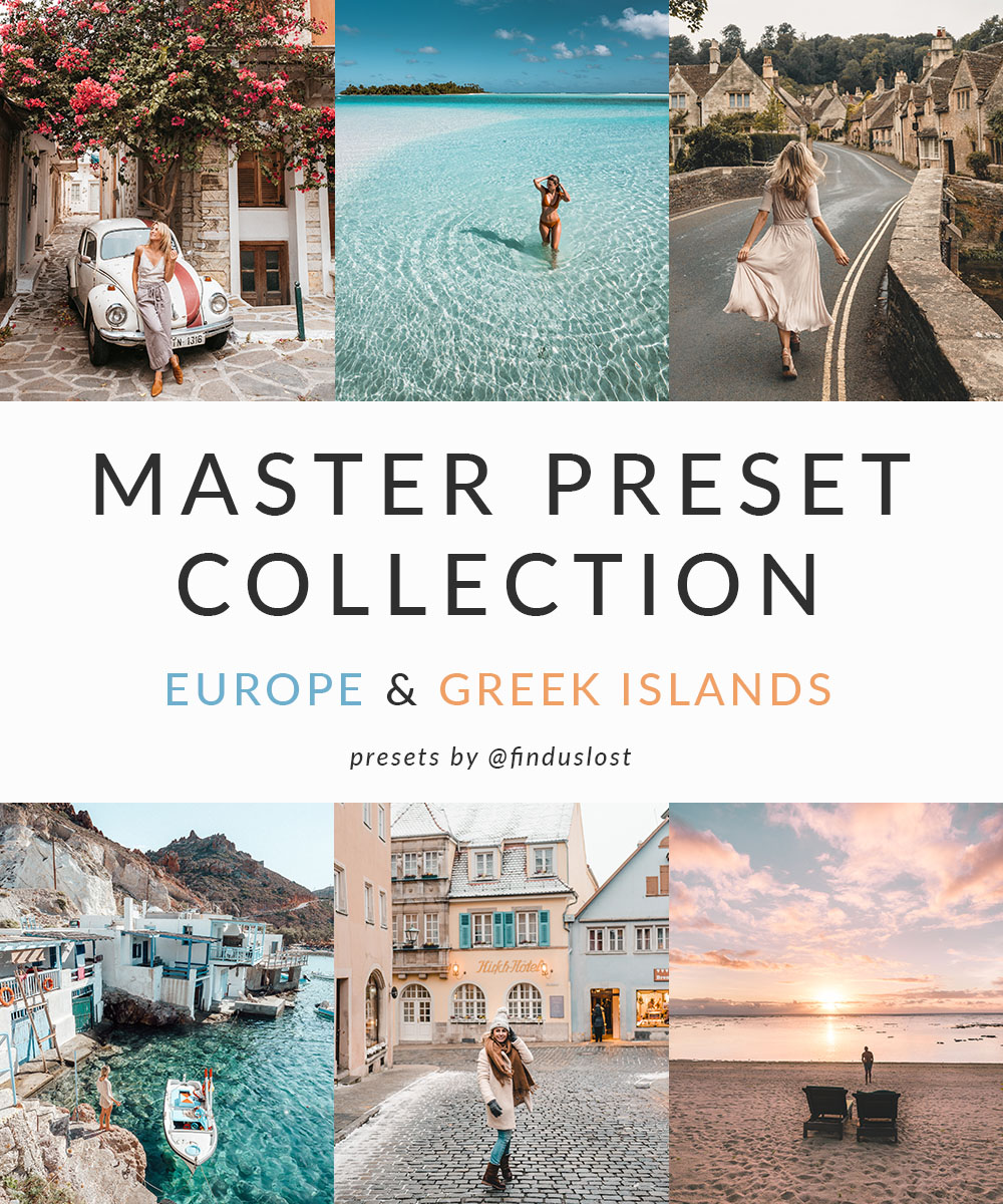 Adobe Lightroom Presets by Find Us Lost | Master Collection