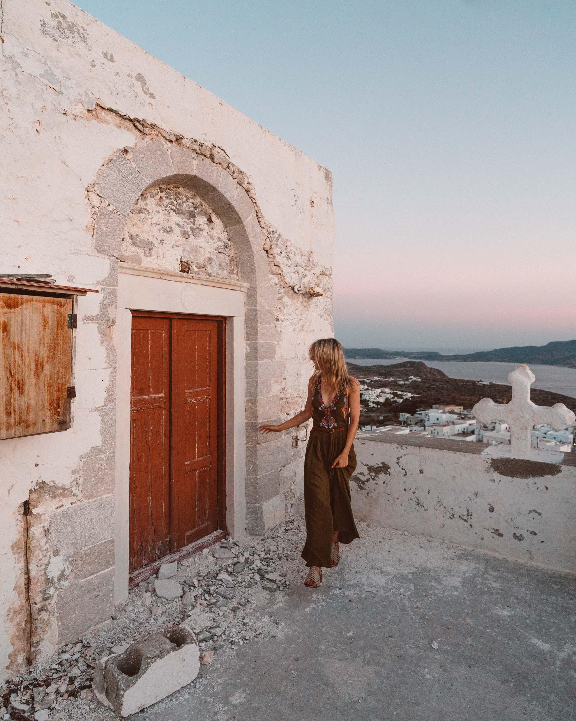 Venetian castle, Milos Greece Travel Guide via Find Us Lost