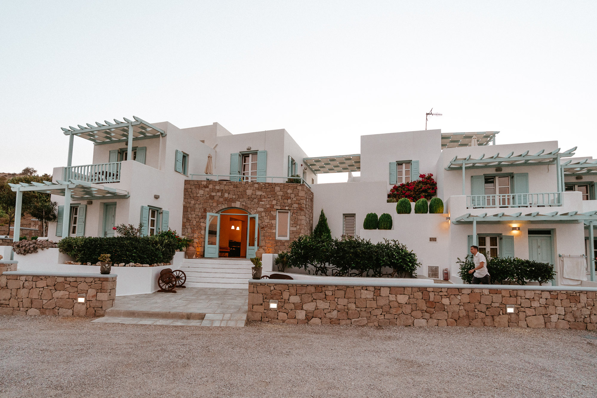 Asterias Boutique Hotel in Milos Greece Travel Guide via Find Us Lost
