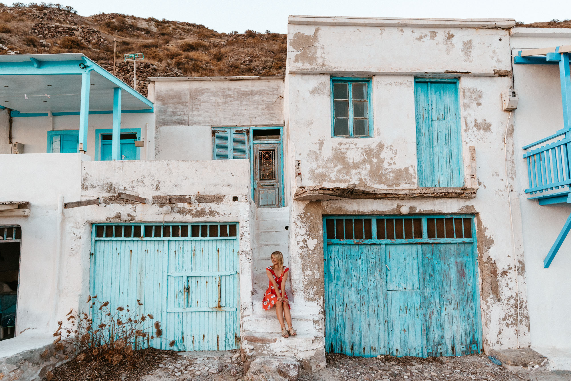 Klima town, Milos Greece Travel Guide via Find Us Lost