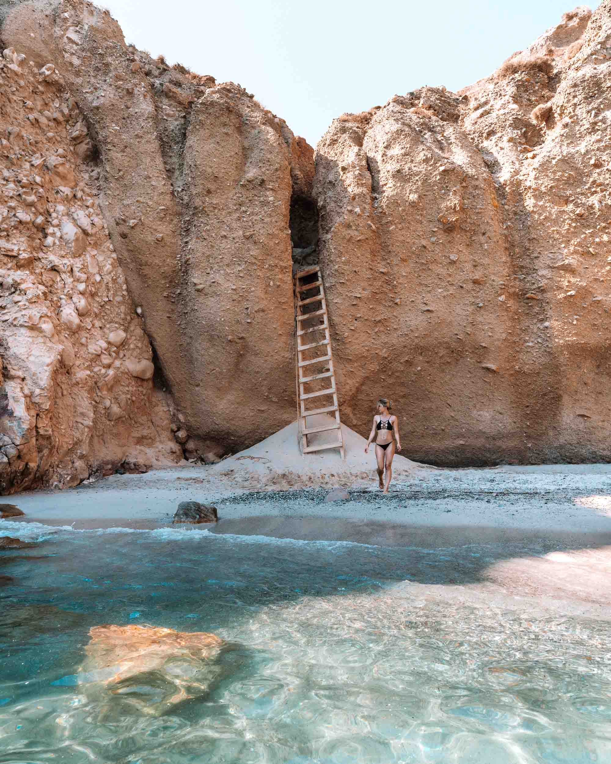 Tsigrado Beach, Milos Greece Travel Guide via Find Us Lost