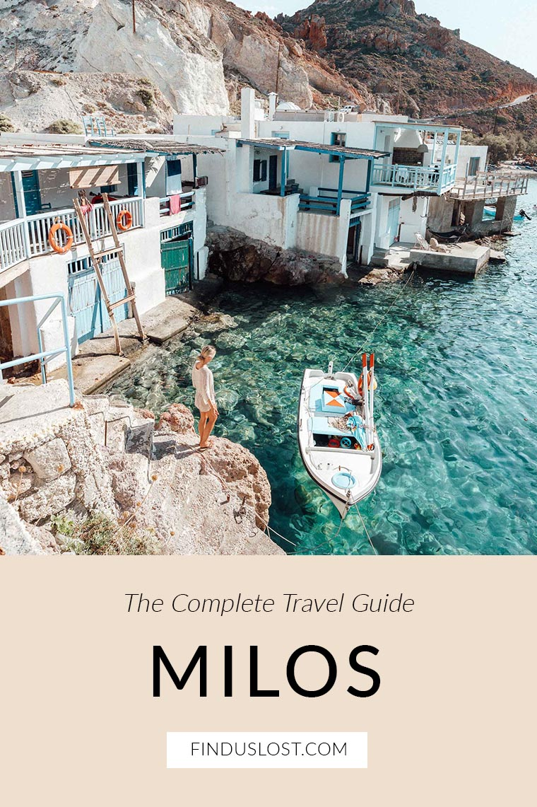 The Complete Milos Greece Travel Guide via Find Us Lost