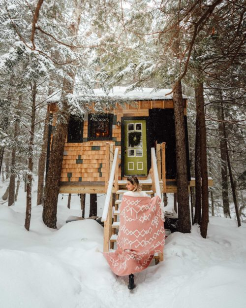 Vermont Treehouse Airbnb: A Weekend Getaway from NYC
