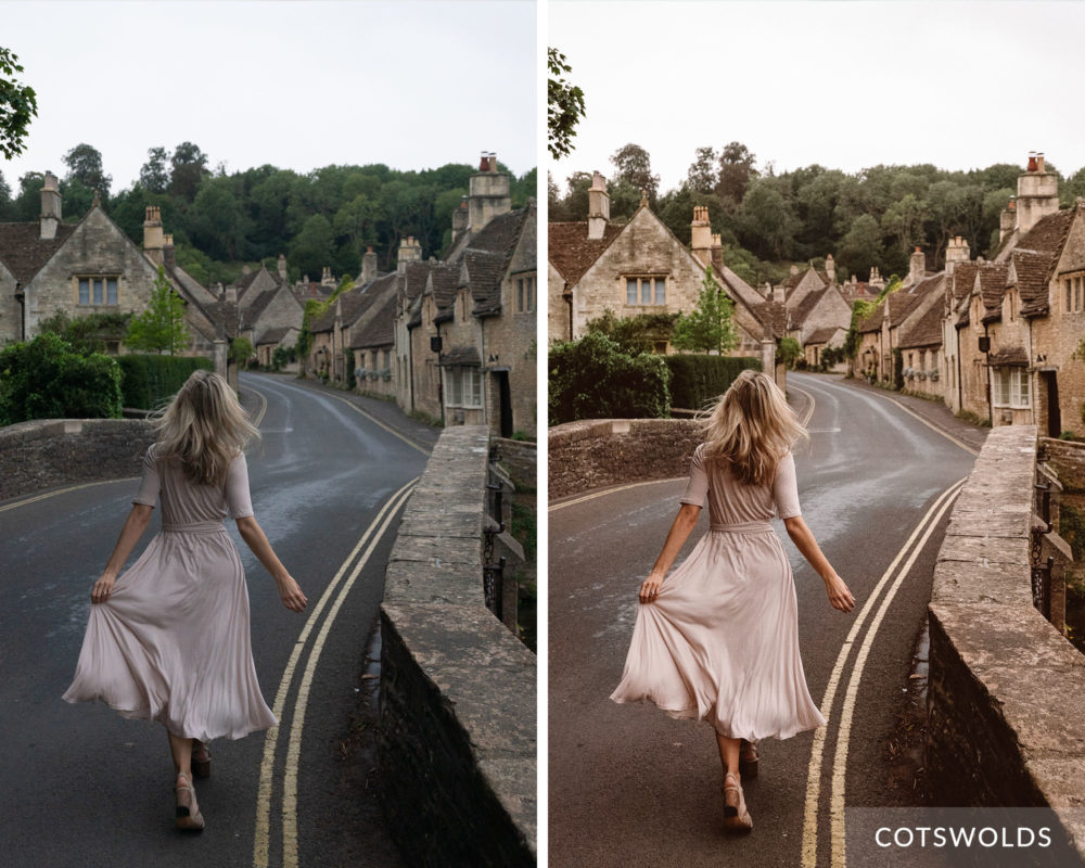 COTSWOLDS - Find Us Lost Europe Lightroom Mobile Preset Collection
