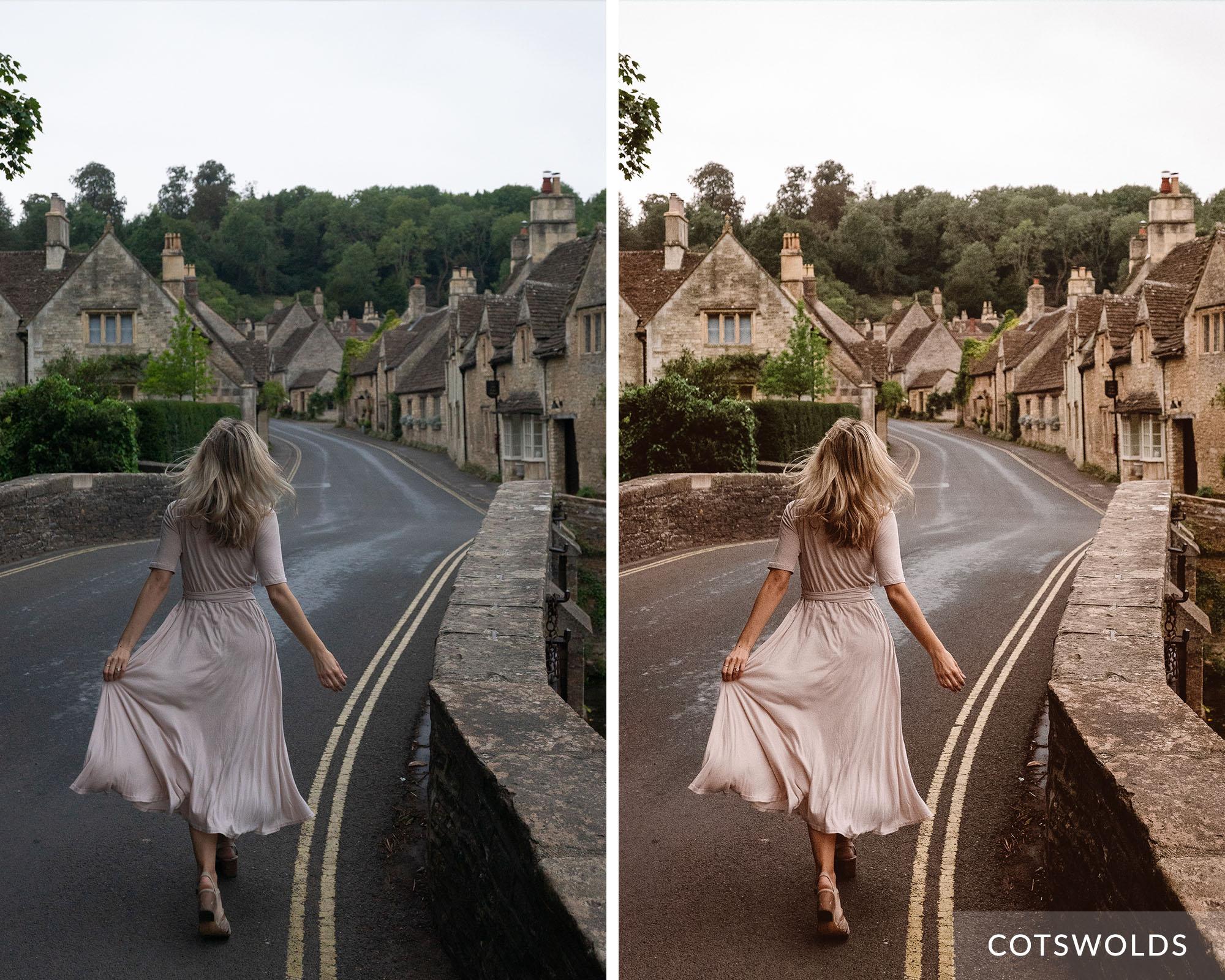COTSWOLDS - Find Us Lost Europe Lightroom Mobile Preset Collection