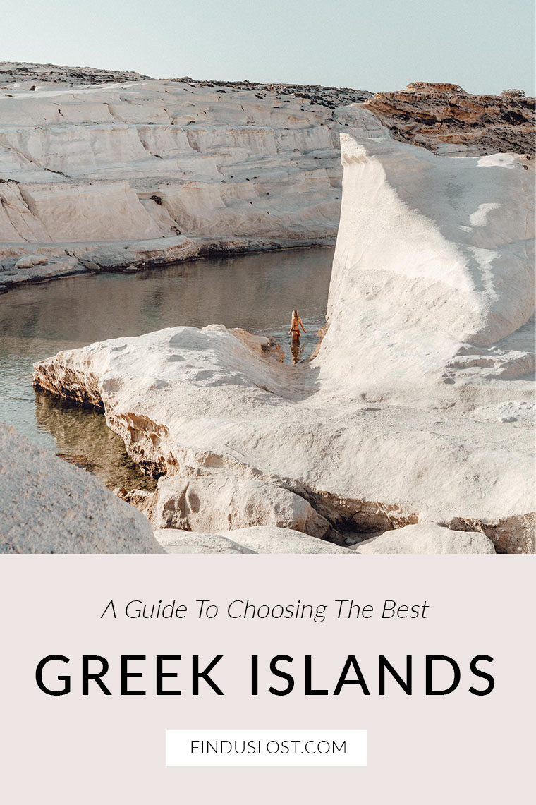 How To Choose The Best Greek Islands FindUsLost