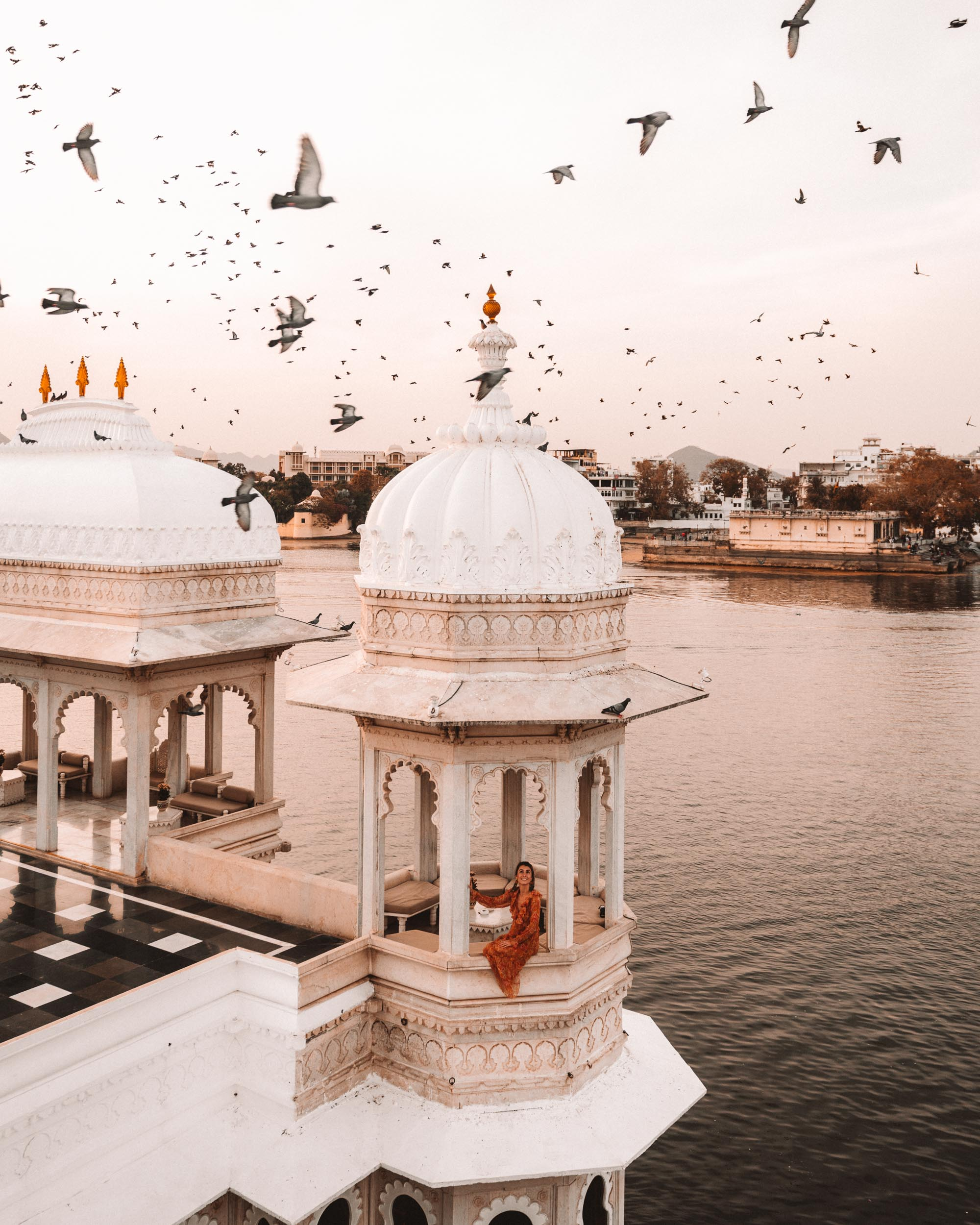 Taj Lake Palace in Udaipur, India via @finduslost