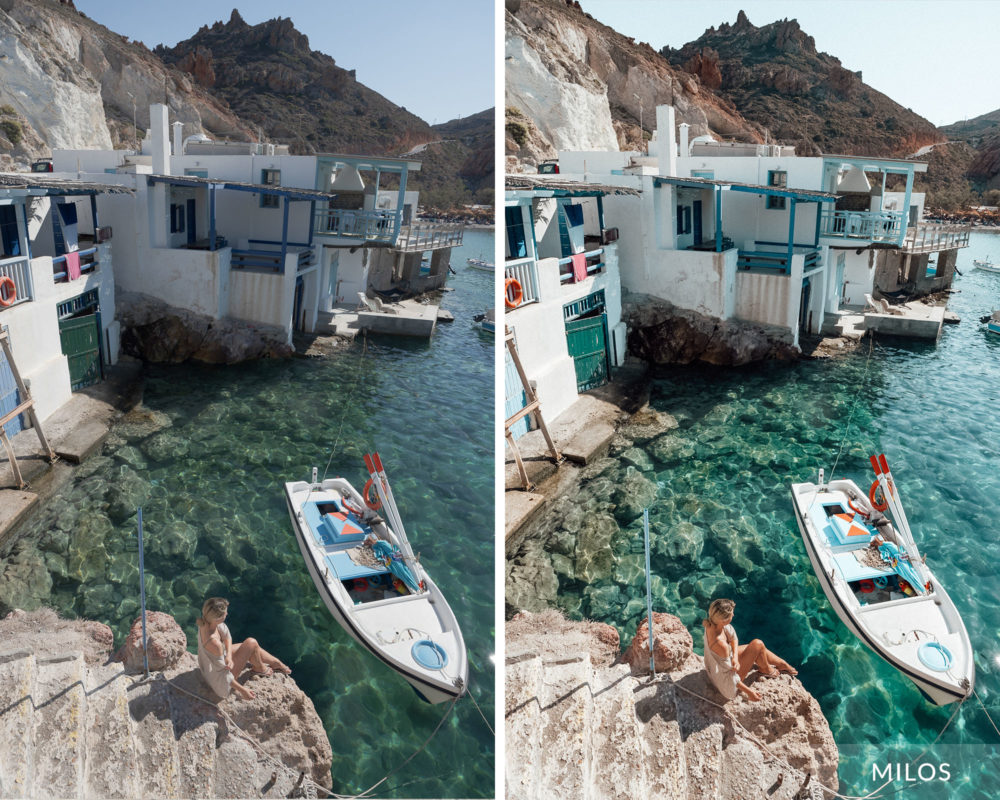 MILOS - Find Us Lost Greek Islands Lightroom Mobile Preset Collection