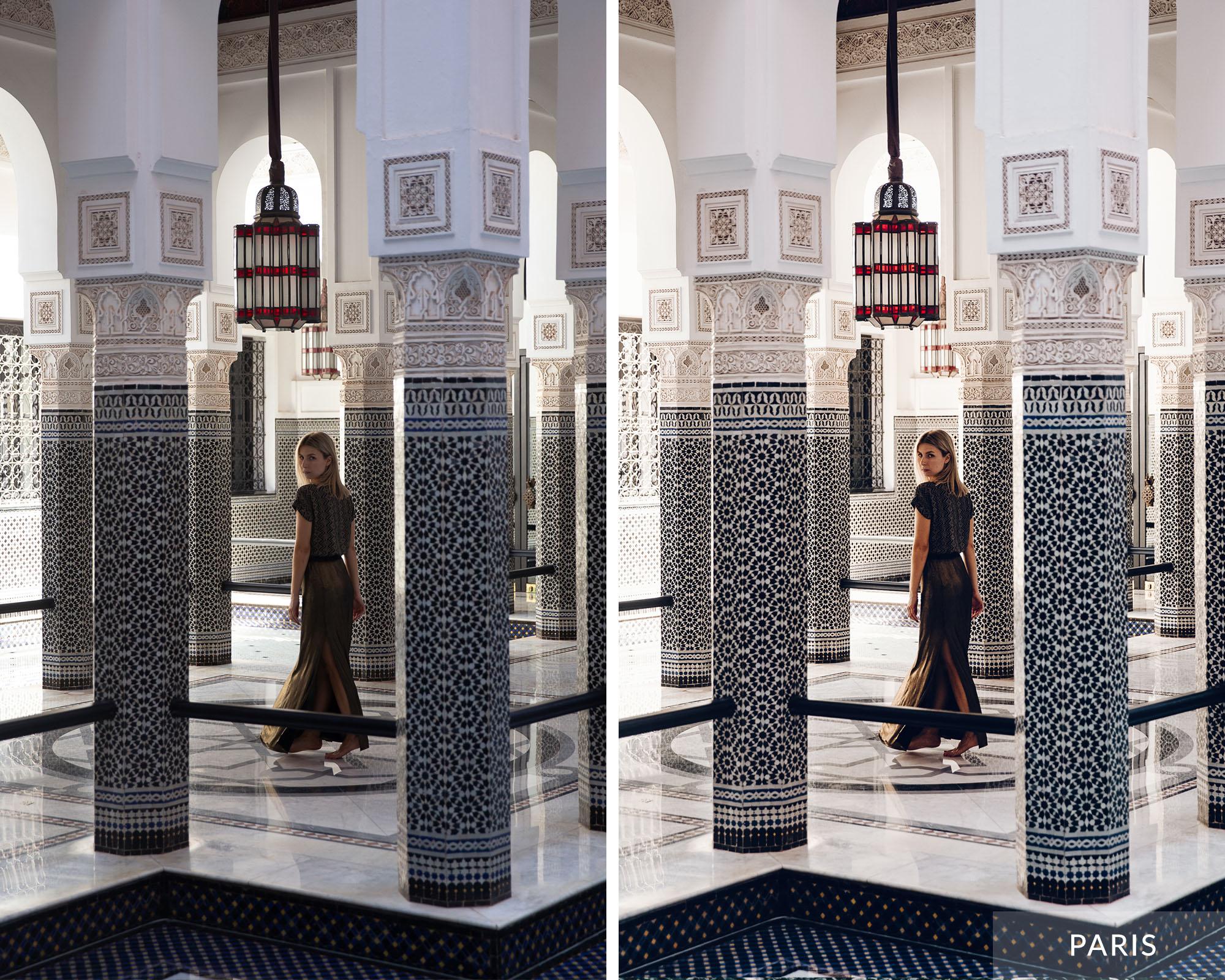 PARIS - Find Us Lost Europe Lightroom Mobile Preset Collection