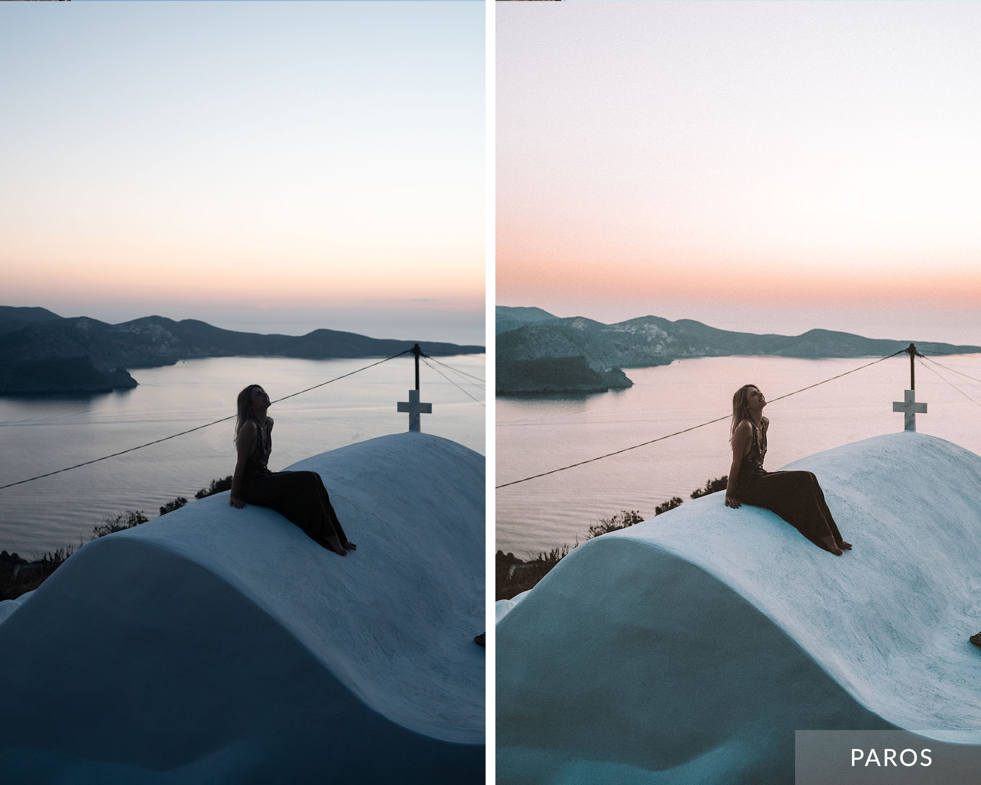 PAROS - Find Us Lost Greek Islands Lightroom Mobile Preset Collection