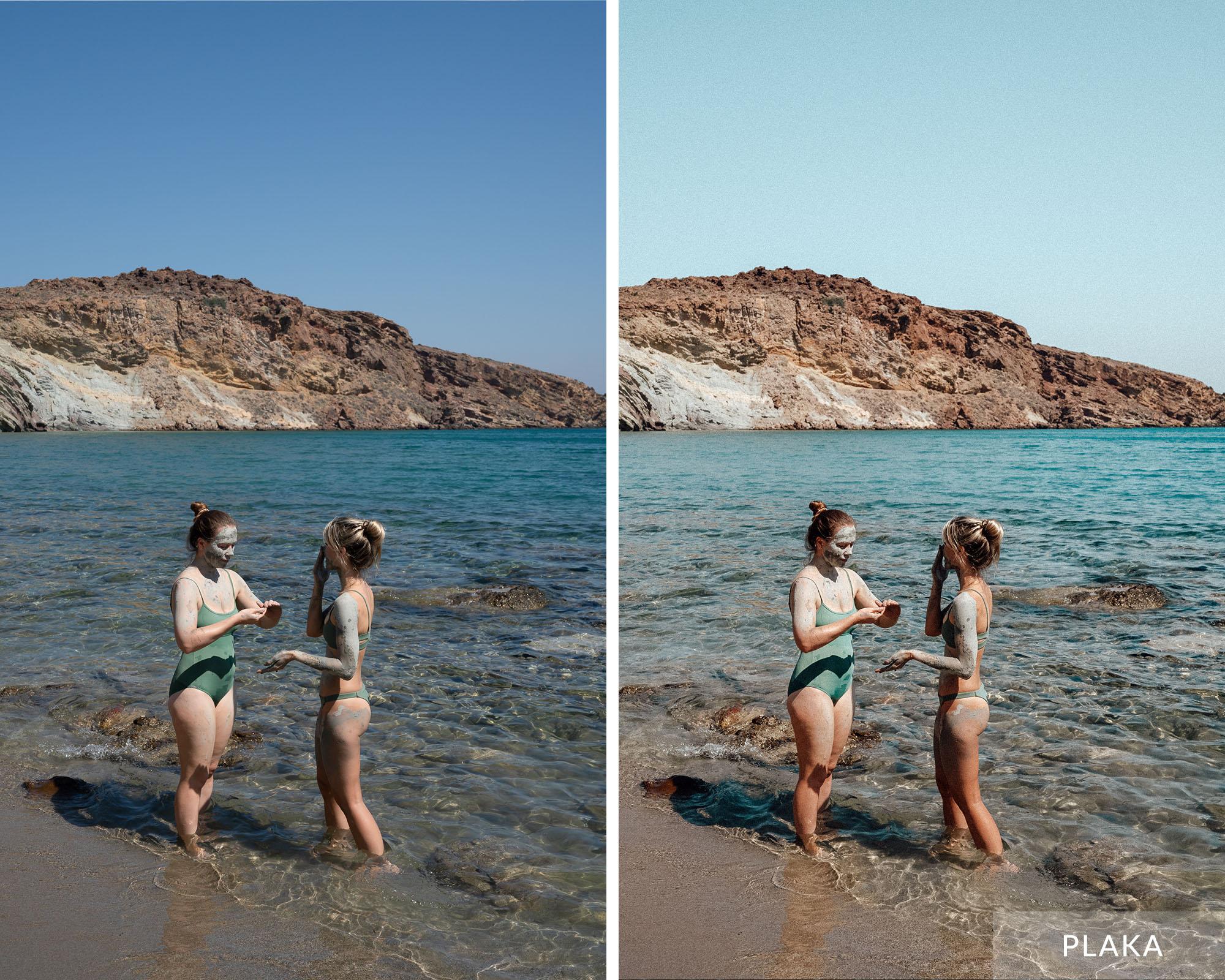 PLAKA - Find Us Lost Greek Islands Lightroom Mobile Preset Collection