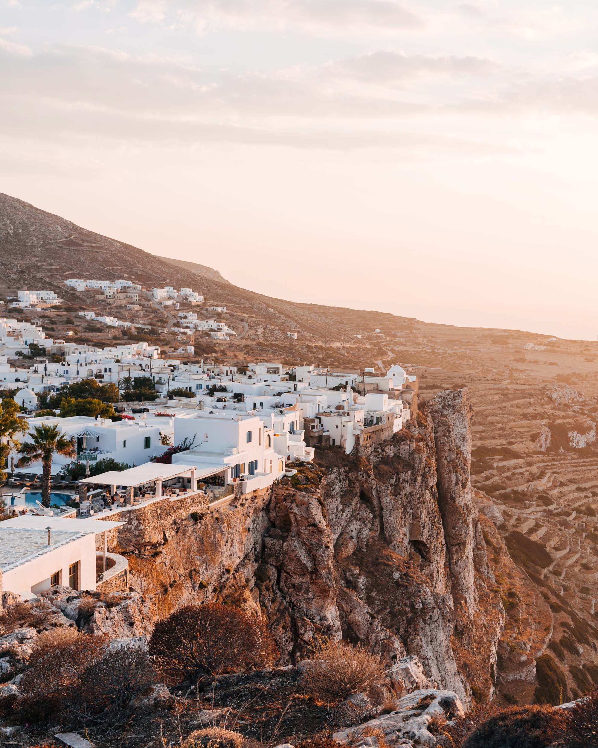 One of the best greek islands to visit - Folegandros via Andy Jam