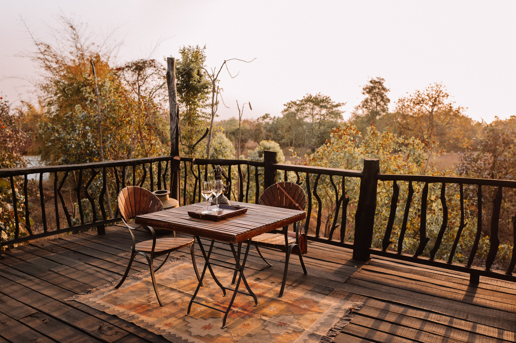 Dinner at Samode Safari Lodge in Ranthambore National Park, India via Find Us Lost