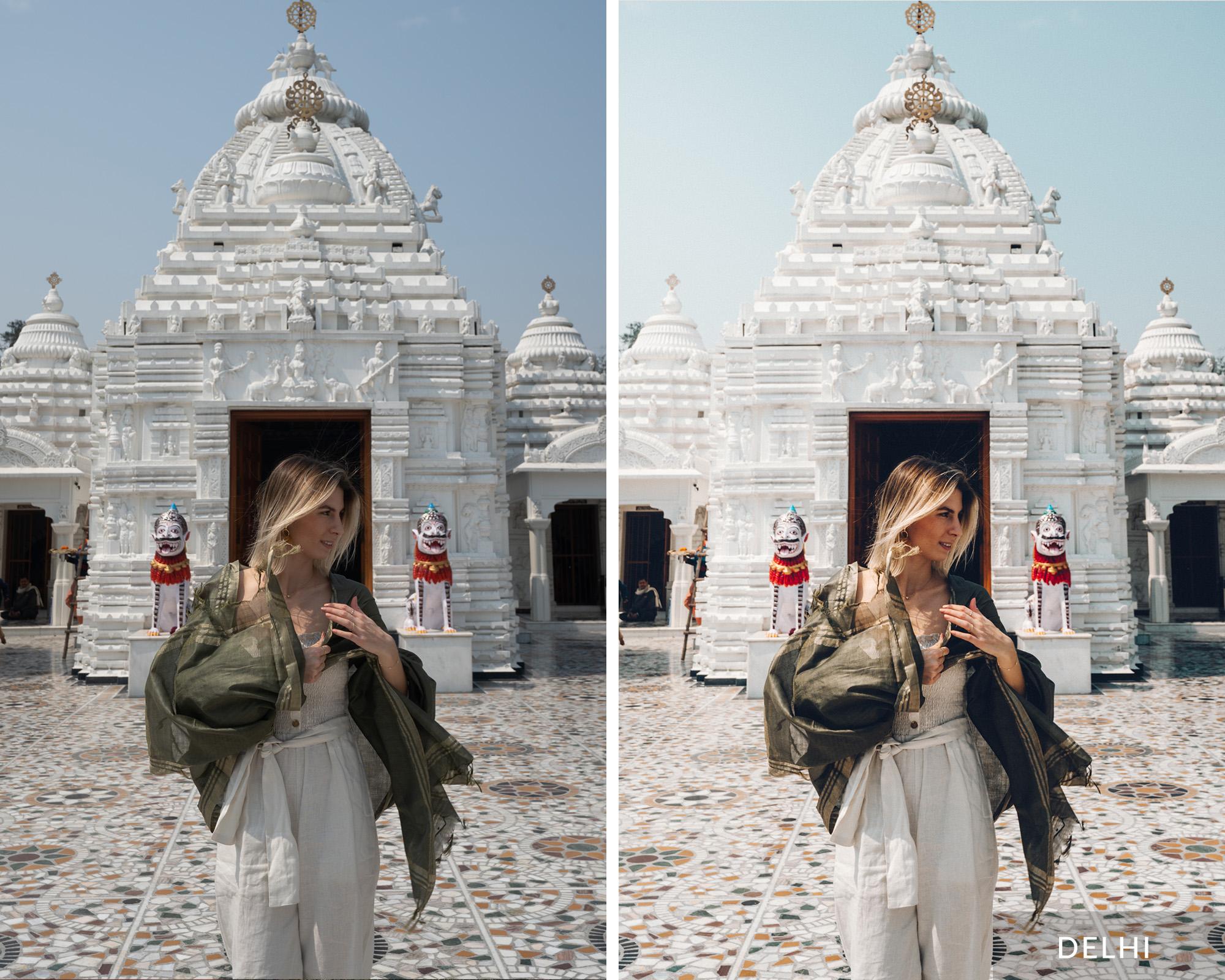 DELHI - Find Us Lost India Lightroom Desktop Preset Collection
