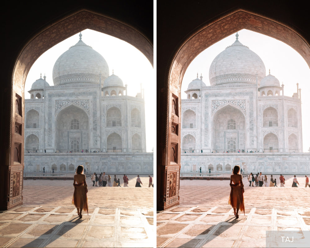 TAJ - Find Us Lost India Lightroom Desktop Preset Collection