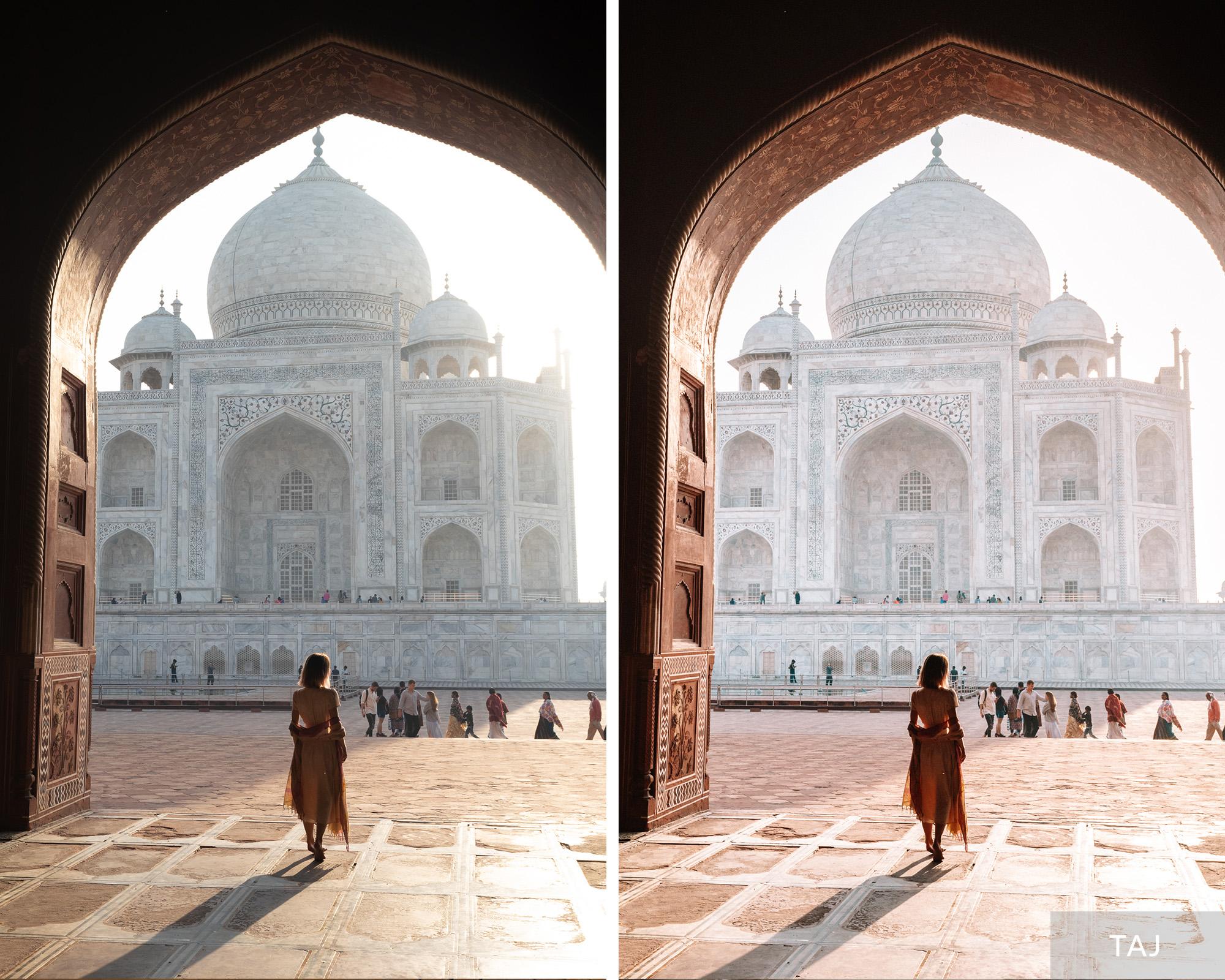 TAJ - Find Us Lost India Lightroom Desktop Preset Collection