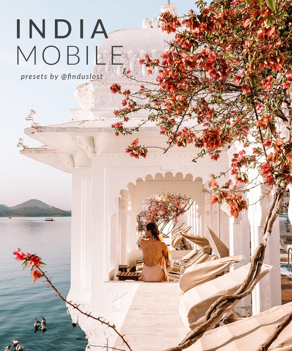 India Mobile Preset Collection for Lightroom via Find Us Lost
