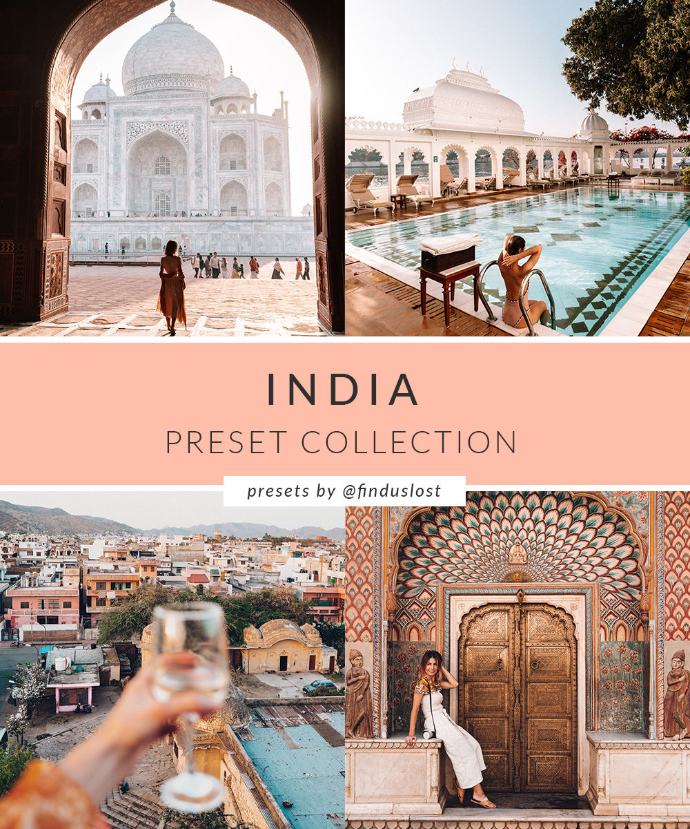 India Preset Collection for Lightroom Desktop Find Us Lost