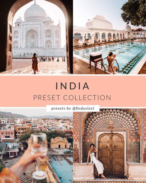 India Preset Collection for Lightroom Desktop Find Us Lost