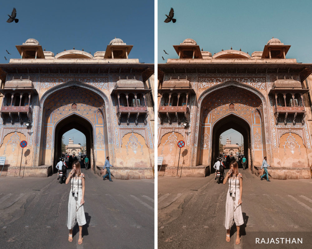 RAJASTHAN - Find Us Lost India Lightroom Mobile Preset Collection