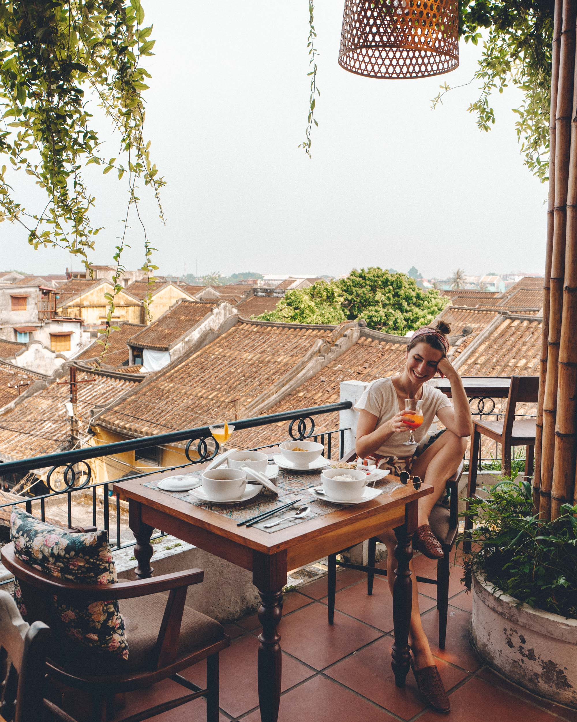 Best rooftop restaurant in Hoi An Vietnam