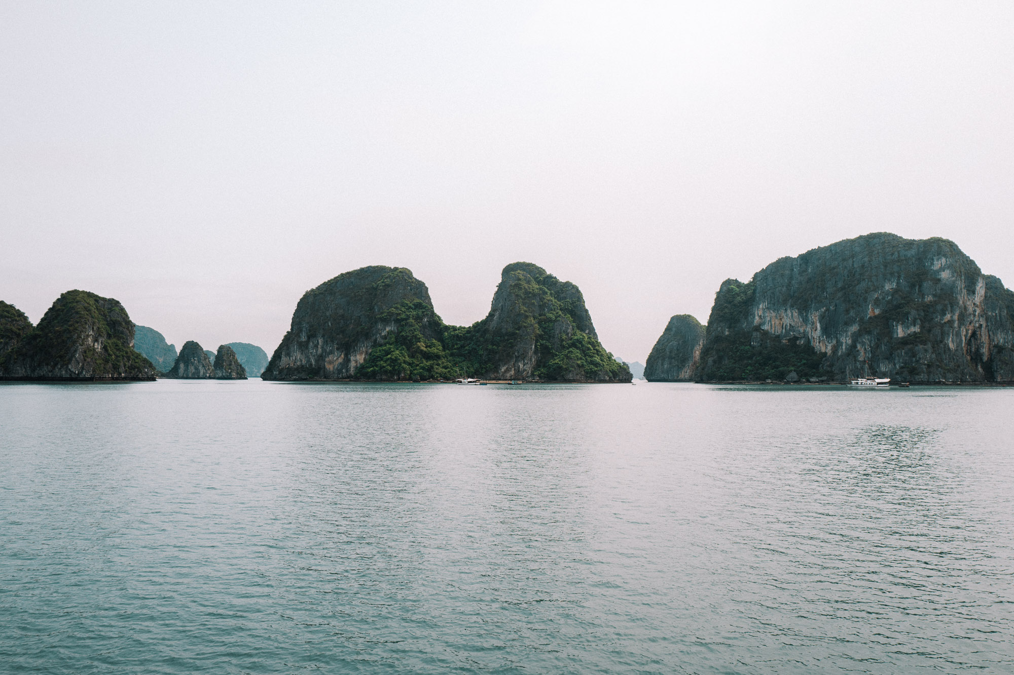 Ha long bay boat trip in Northern Vietnam